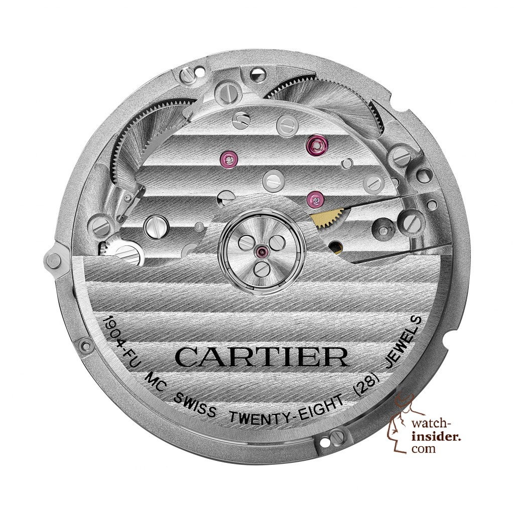 CARTIER Manufacture self-winding mechanical movement, caliber 1904-FU MC