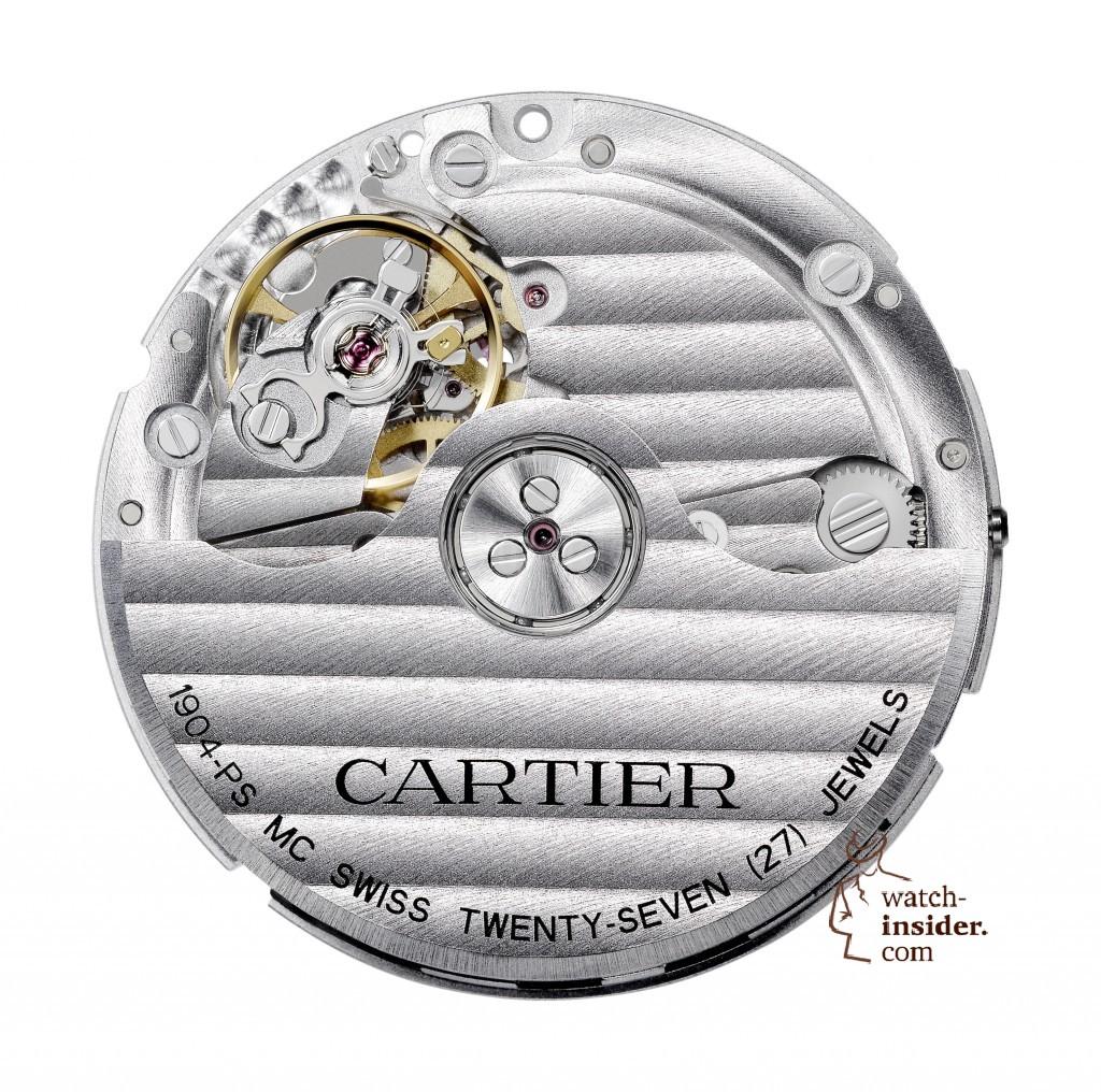 CARTIER Manufacture self-winding mechanical movement, caliber 1904 PS MC
