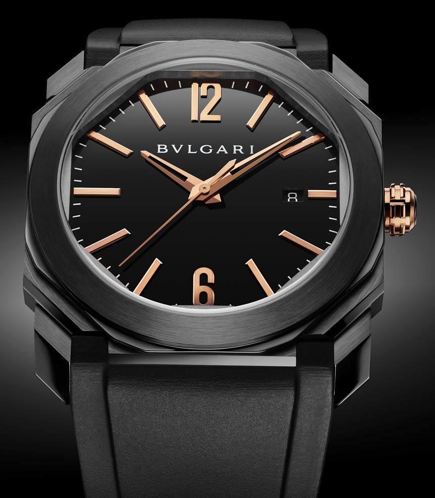Bvlgari replica watches - Bulgari Octo Ultranero Replica Watches In Four Versions For 2016 Replica Watch Releases