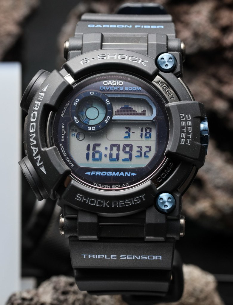 Replica g shock watches - Casio G Shock Frogman Gwf D1000 Hands On The Ultimate Diving Tool