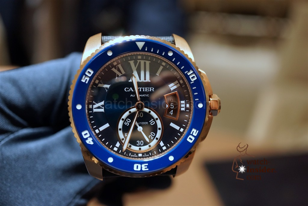 CARTIER Calibre de Cartier Diver Blue