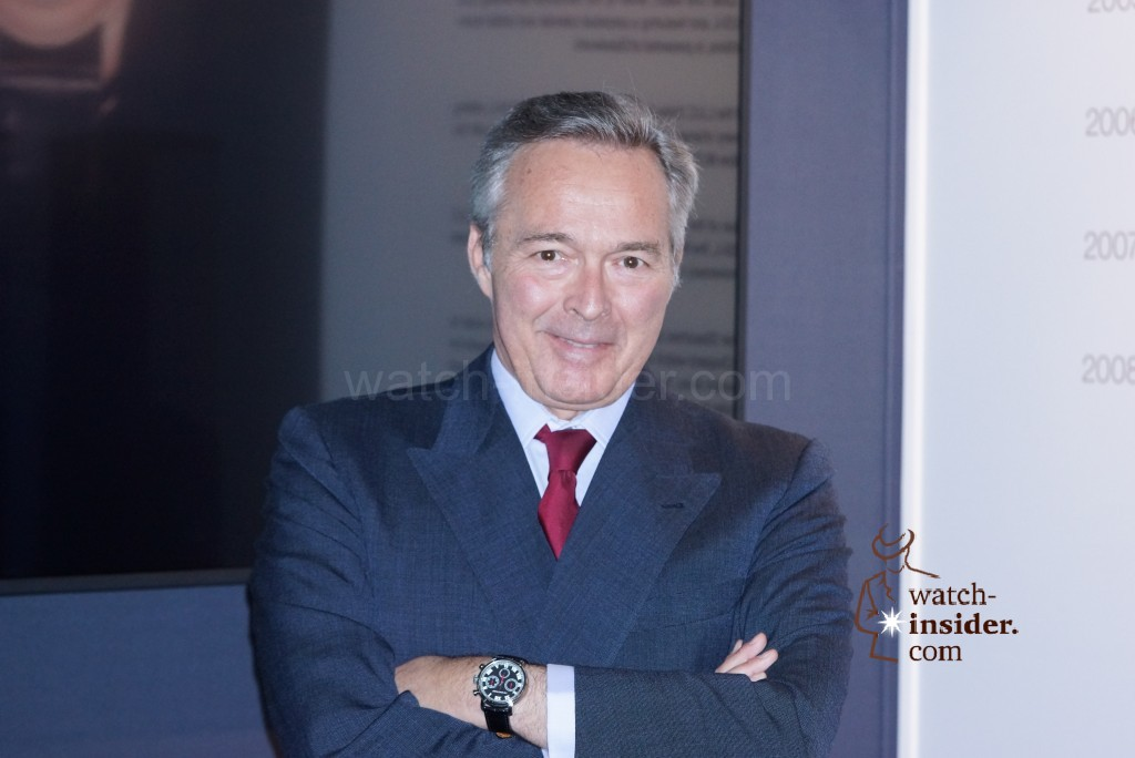 Karl-Friedrich Scheufele, Co-President of Chopard