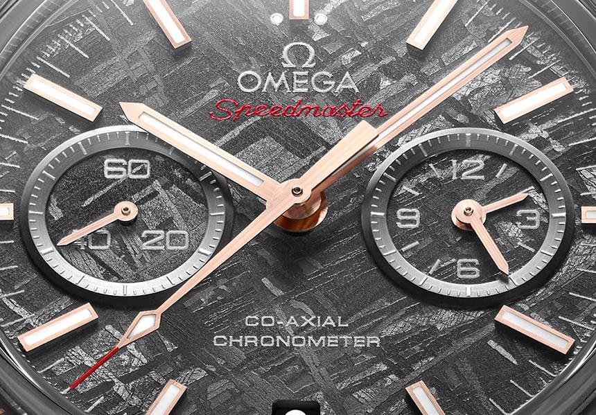 Omega Speedmaster Grey Side Of The Moon Meteorite Replica