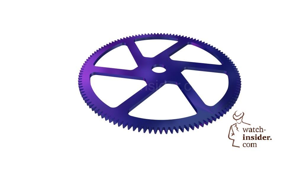 Breitling Superocean Héritage Chronoworks ... Silicon wheel
