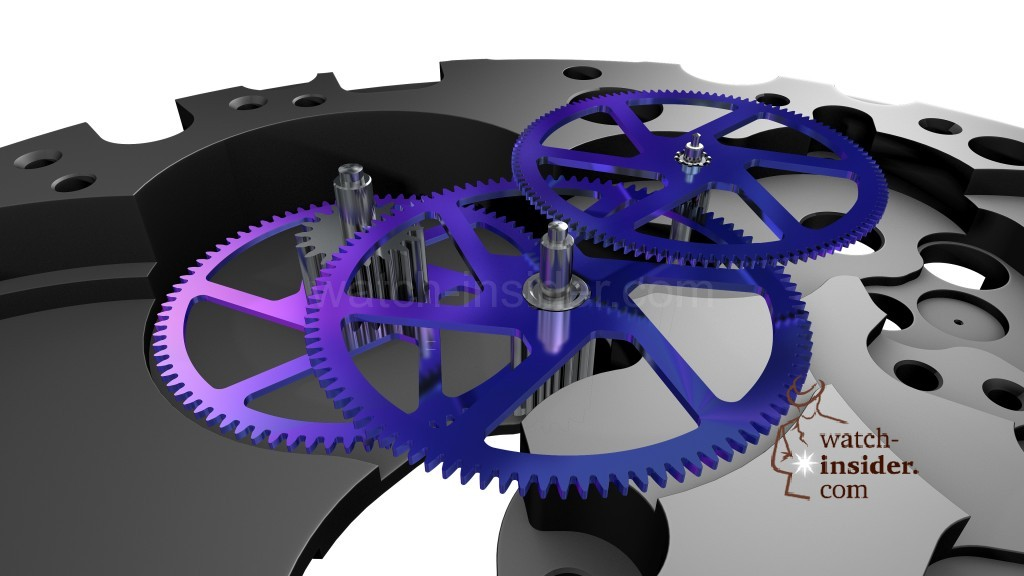 Breitling Superocean Héritage Chronoworks ... Silicon wheels
