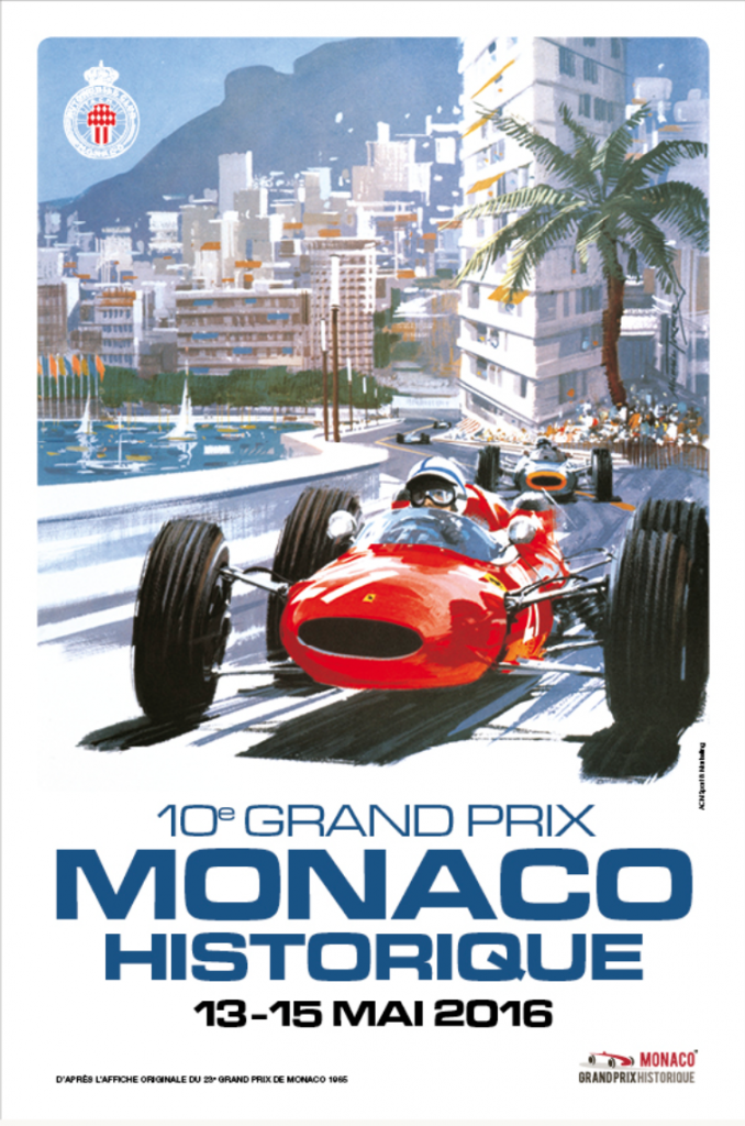 The Grand Prix de Monaco Historique will celebrate in 2016 its 10th edition
