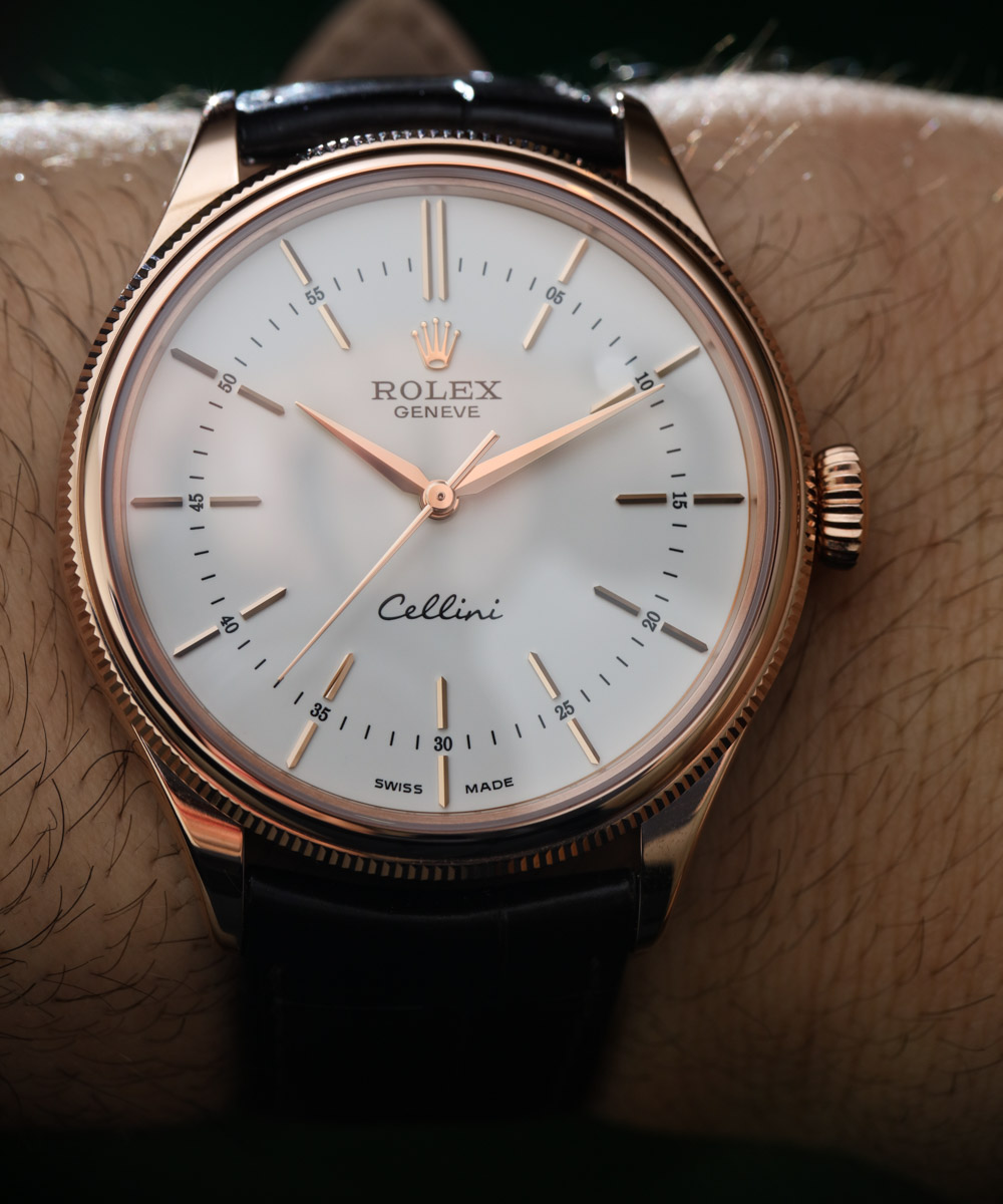 New Rolex Cellini Time Replica Watch With 'Clean Dial ...