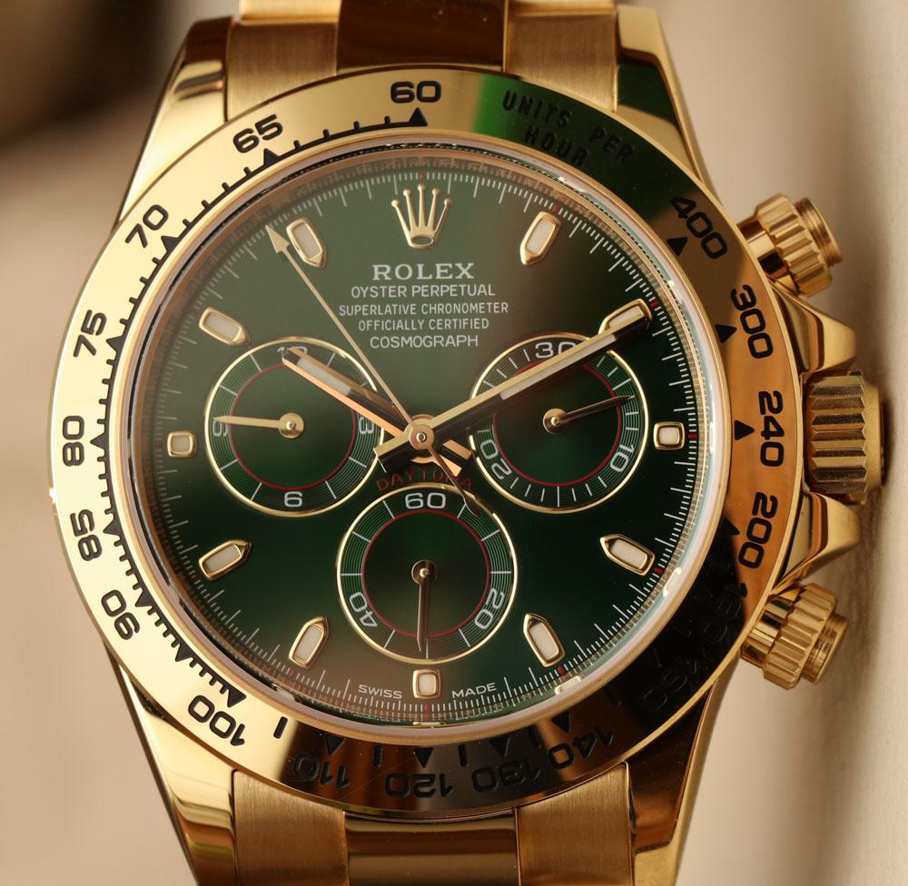 Rolex Oyster Perpetual Cosmograph Daytona platinum watch