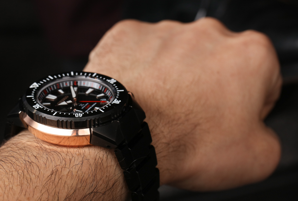 Seiko Prospex 200M Spring Drive GMT Replica Watch Hands-On Hands-On