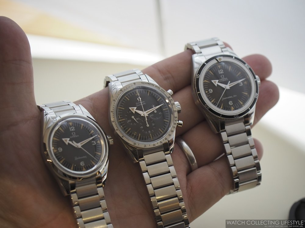 baselworld 2017 omega 1957 trilogy 60th anniversary