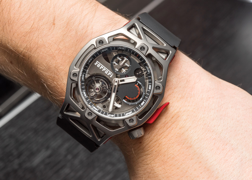 Hublot Techframe Ferrari 70 Years Tourbillon Chronograph Replica Watch Hands-On Hands-On