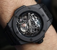 How Hublot cuts their replica watch cases
