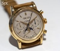 Patek Philippe 2499 yellow gold fourth series 1