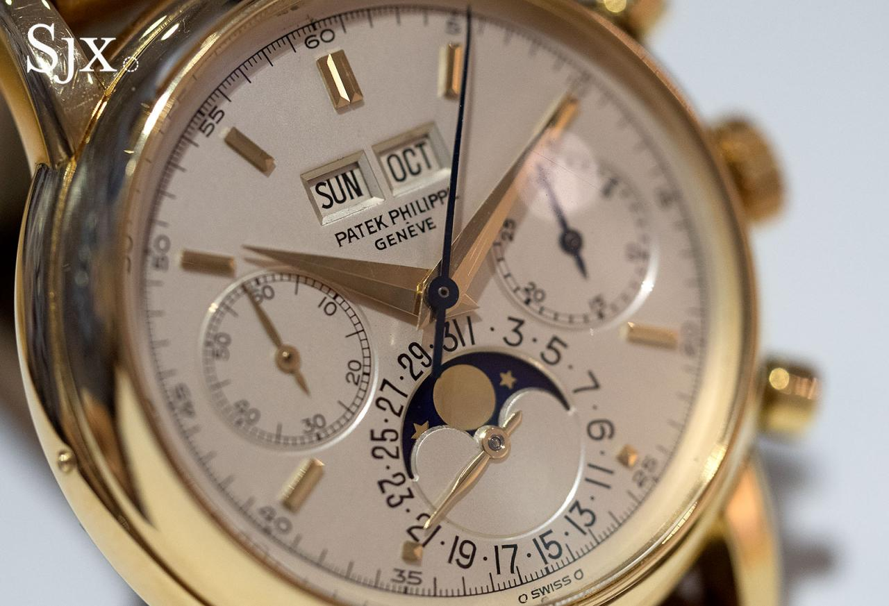 Patek Philippe 2499 yellow gold fourth series 8