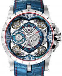 Roger Dubuis Excalibur Quatuor Cobalt MicroMelt Watch Watch Releases