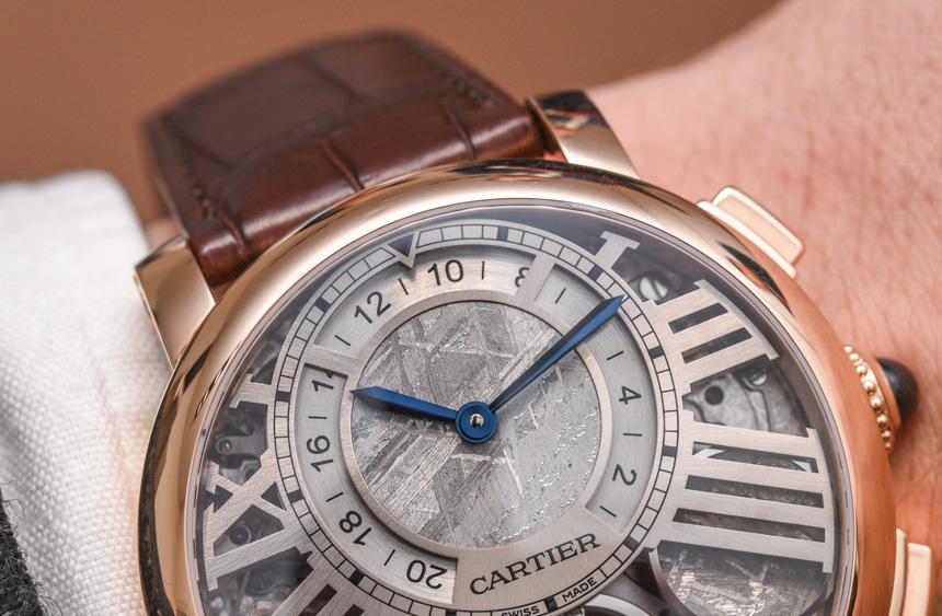 High Quality Replica Cheap Cartier Rotonde De Cartier Earth And Moon Watch Hands-On