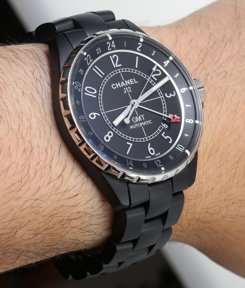 Chanel J12 GMT Matte Watch Review Wrist Time Reviews