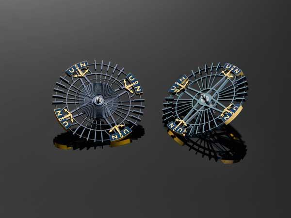 Ulysse Nardin silicon balance wheels