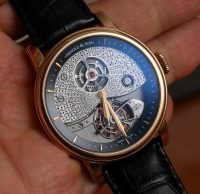 Arnold & Son TE8 Métiers d'Art I Tourbillon Watch Hands-On Hands-On