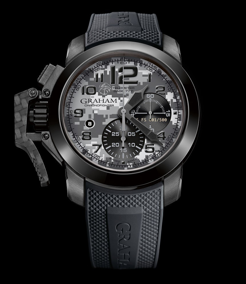 Graham Chronofighter Oversize Navy SEAL Foundation Limited Edition Watch Watch Releases