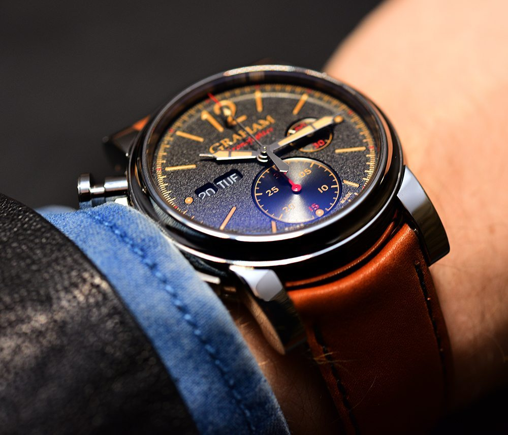 Graham Chronofighter Vintage Watch Hands-On Hands-On