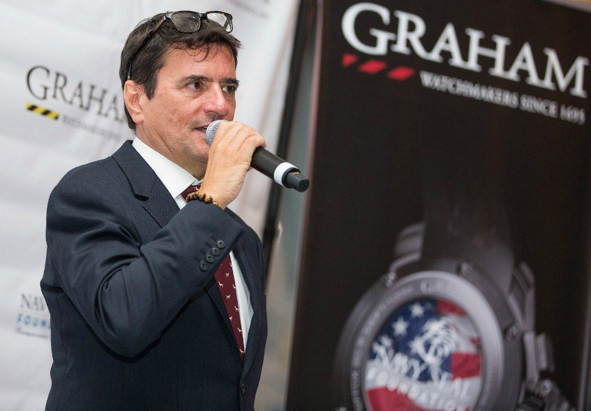 Graham Watches, The Navy SEALs, & The Future: A Talk With CEO Eric Loth ABTW Interviews