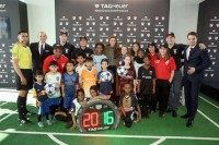 """Replica TAG Heuer """"connects"""" with soccer"""